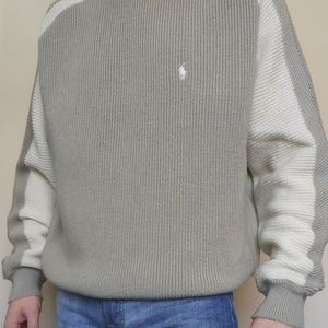 Polo Ralph Lauren M/L Tan Sweater (Polo Sport)